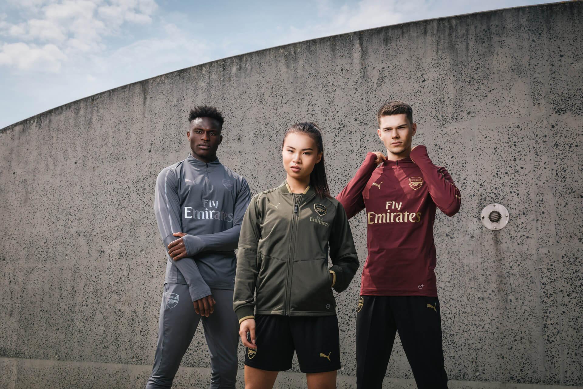 Arsenal Training Range 18/19 Video Production Birmingham
