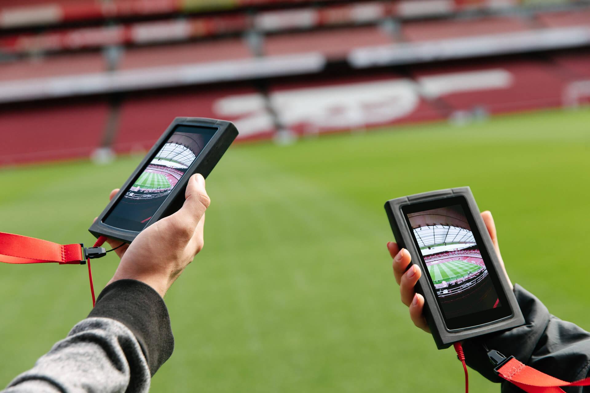 Emirates Stadium Tours Video Production Birmingham
